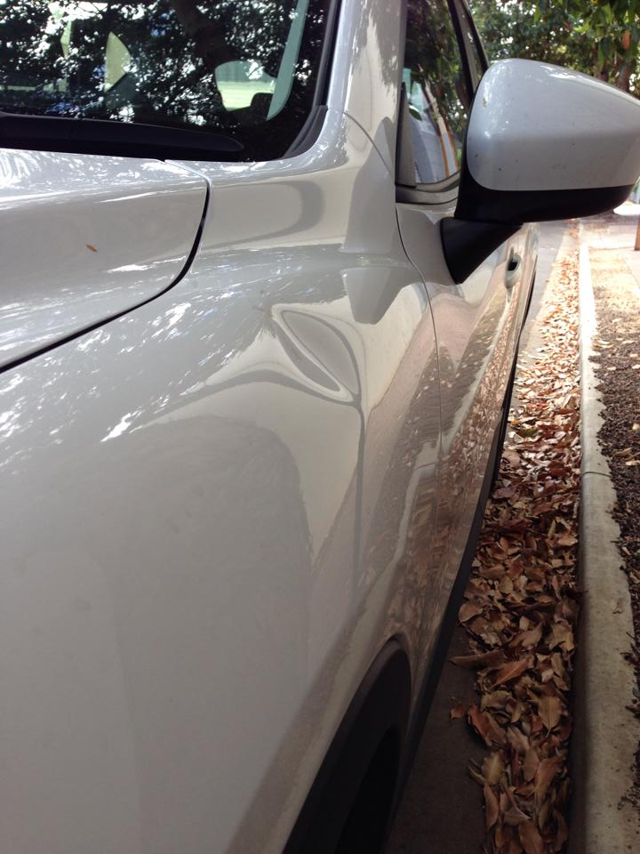 Examples and Prices of our Paintless Dent Repair work